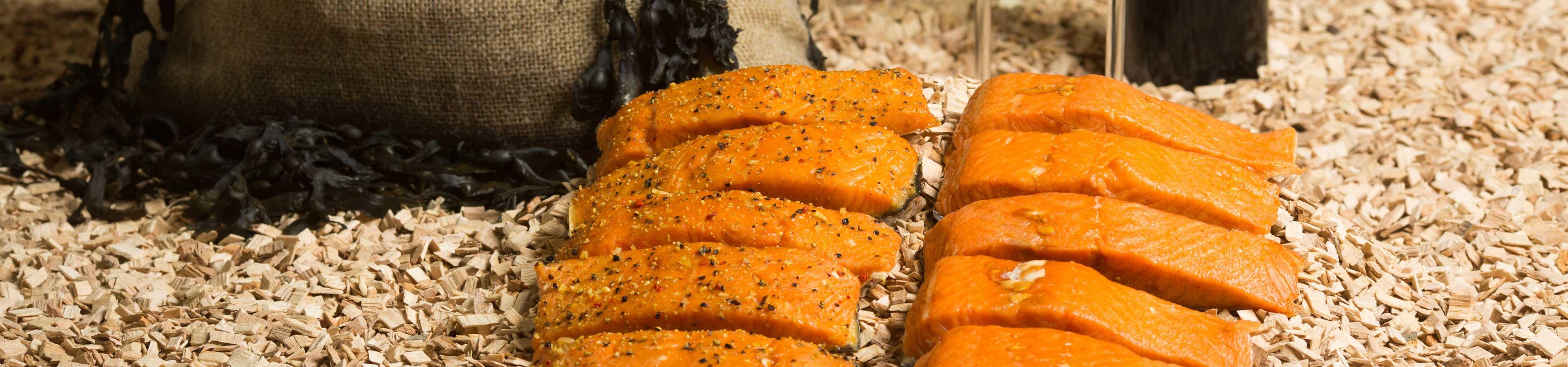 paling en zalm